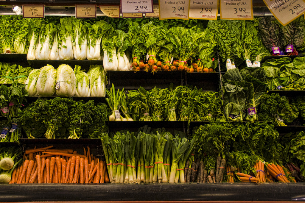 Veggies grocery store